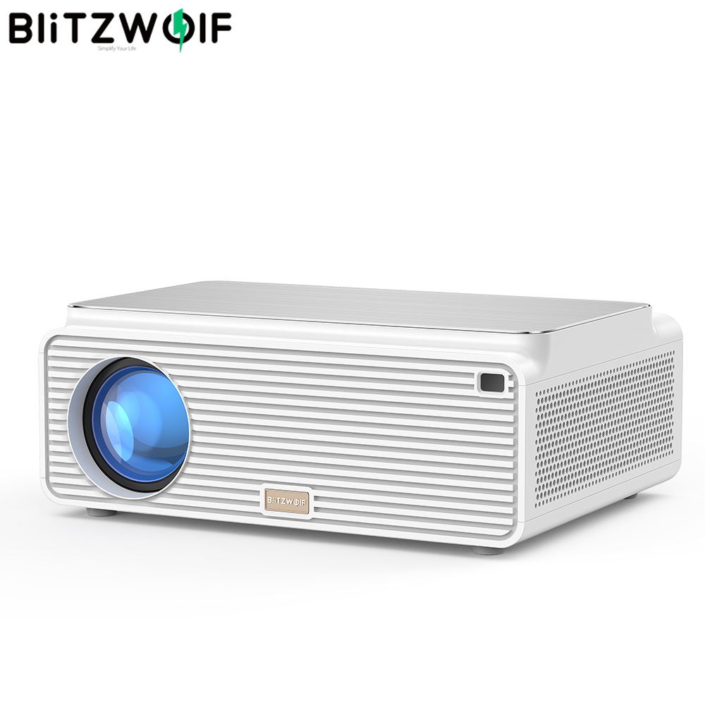 Blitzwolf-proyector LCD para teléfono móvil