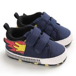 Новые парусиновые спортивные кроссовки с маленькими крыльями для новорожденных мальчиков и девочек, обувь для малышей Мягкая Детская