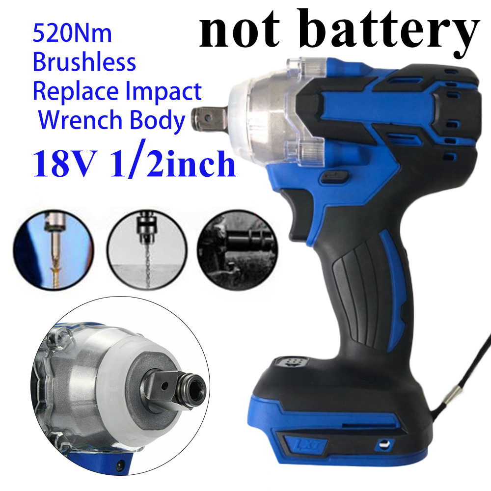 Cordless 1280W Brushless Adjustable 240-520NM Electric Hammer Drill 10