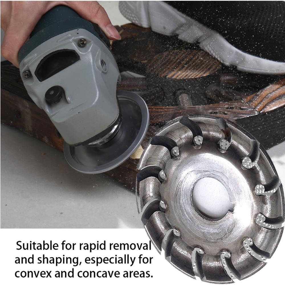 Root Carving Electrical Accessories Multi Tool Rapid Shaping Cutter Angle Grinder Blade Durable Sturdy Wood Cutting