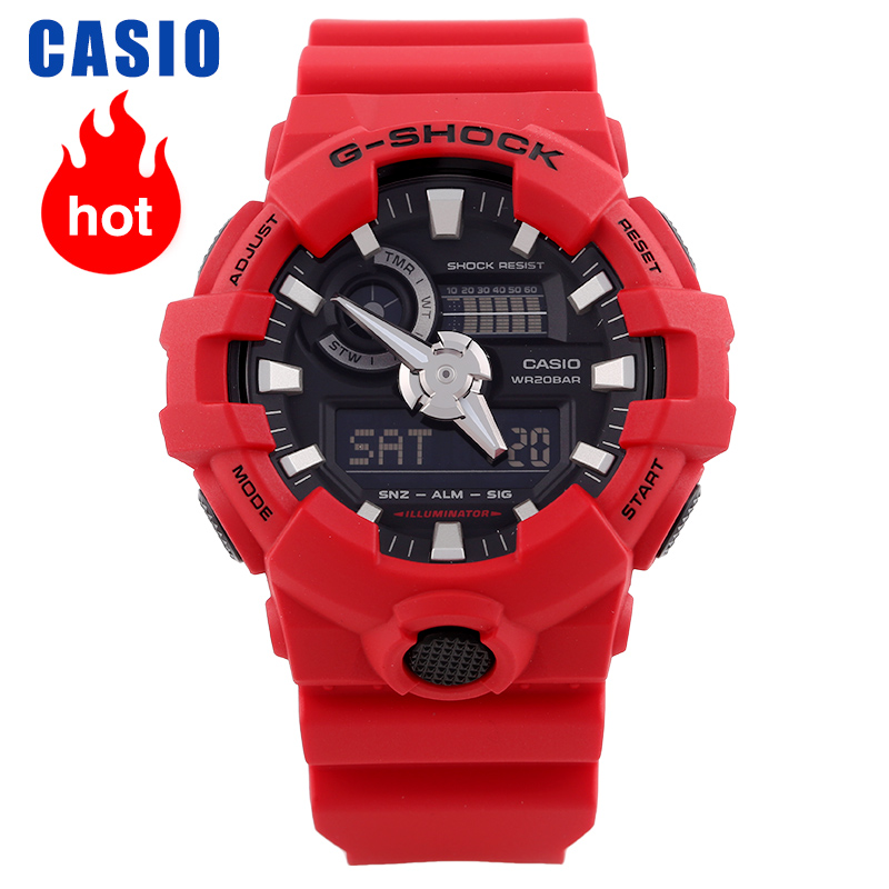 Casio Watch Men's G-SHOCK Sports Waterproof Multi-function Men's Watch GA-700-4A