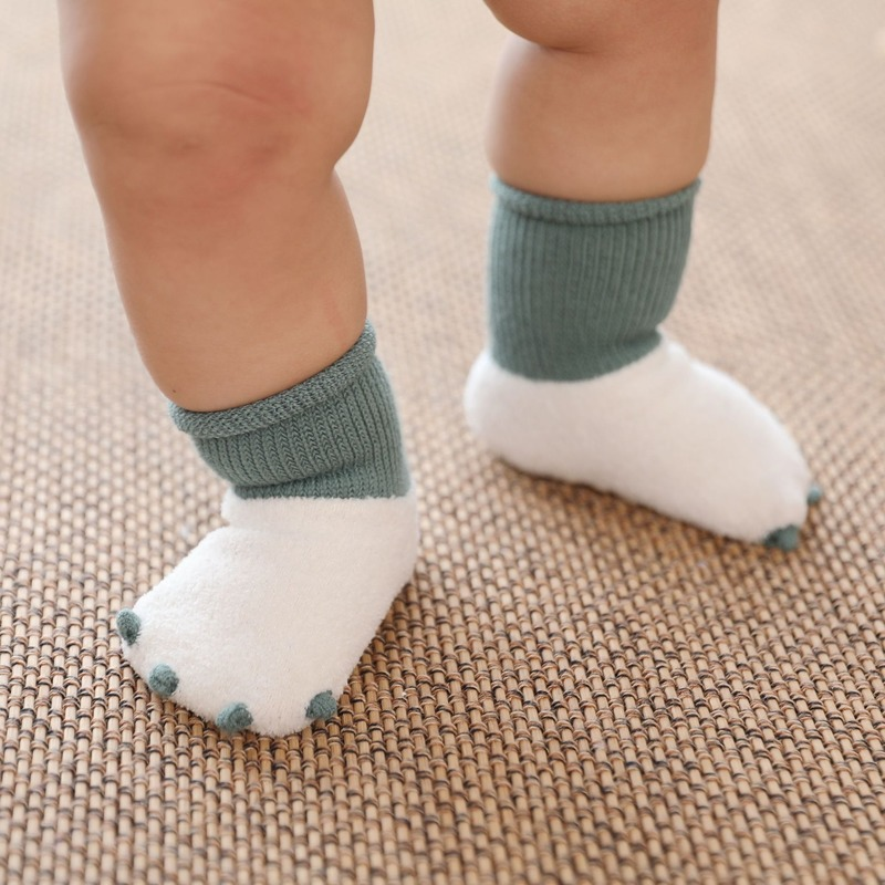 Winter Thick Baby Socks Warm Newborn Cotton Boys Girls Cute Toddler Socks Infant Anti Slip Socks Baby Non-slip