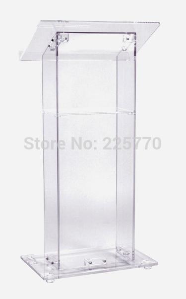 Clean Acrylic Podium Perspex Church Lectern Church Lucite Acrylic Podium Church Rostrum Plexiglass