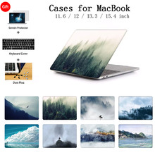 Nieuwe Case Voor Macbook Air 11 13 Pro 13.3 16 15 Retina Touch Bar Cover Voor Apple Mac Boek 12 inch A1534 Laptop Toetsenbord Cover(China)