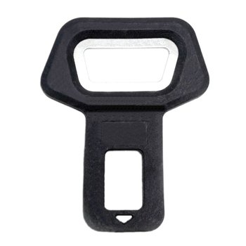 1PC Car Vehicle-mounted Bottle Openers Safety Belt Clip Dual-use for Auto Car Accessories Tool image