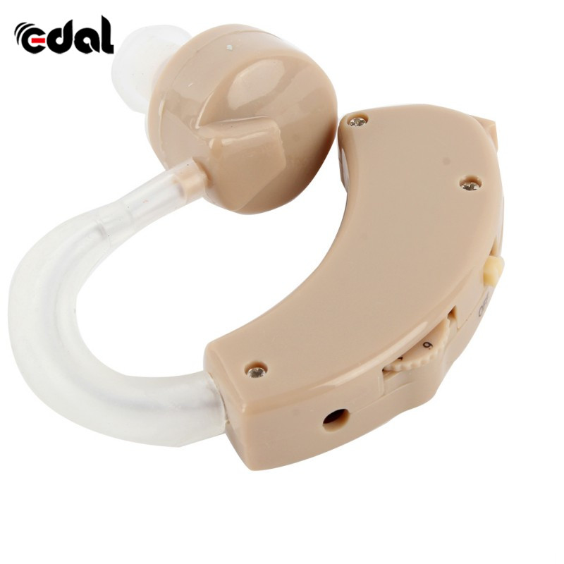 Portable Old Aid Hearing Aids Aid Kit Behind The Ear Sound Amplifier Sound Adjustable Device Time-limited Tone Hearing