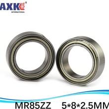 675-2Z 675ZZ MR85 MR85ZZ  MR85-2RS SMR85ZZ SMR85-2RS ZZ RS RZ 2RZ L-850 Deep Groove Ball Bearings 5 x 8 x 2.5mm High Quality free shipping 50 pcs fr1810zz fr18102z fr1810 2z flanged bearings 5 16 x 1 2 x 5 32 inch flange ball bearings rif 8516zz