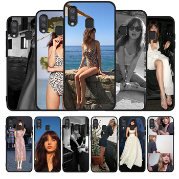 Dakota Johnson black Phone Case For Samsung A10 M10 A20 A30 A40 A50 A30S M20 M30 M30S M40 A60 A01 A21 A31 A51 A71 A20E image