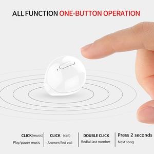 Image 5 - SQRMINI X20 Ultra מיני אלחוטי אוזניות נסתרת קטן Bluetooth אוזניות 3 שעות מוסיקה לשחק כפתור שליטה Earbud עם תשלום Cas
