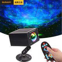 Free Shipping LED Galaxy Stage Effect Lighting Strobe Laser Projector Night  Disco Ball Christmas Holiday Lamp For DJ Party