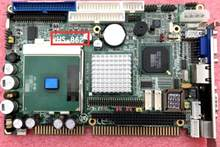 100% OK Original Embedded IPC Mainboard HS-862 ISA Bus Industrielle motherboard Half-Size CPU Karte PICMG1.0 SBC mit CPU RAM(China)