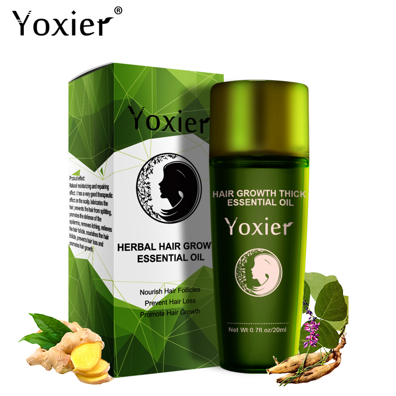 f070033028f3 US $6.09 49% OFF|Yoxier Herbal Hair Growth Essential Oil Hair Care Hair  Loss Product Promote Thick Fast Repair Growing Treatment Liquid  20ml/1Pcs-in ...
