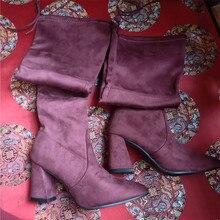 womens summer Overknee Elastic High boots Woman