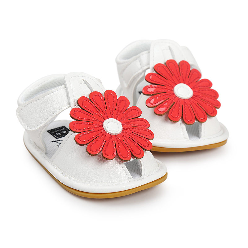 Flower Baby Sandals For Girls Toddler Princess Newborn Baby Kids Shoes Baby Girls Shoes Summer Clogs