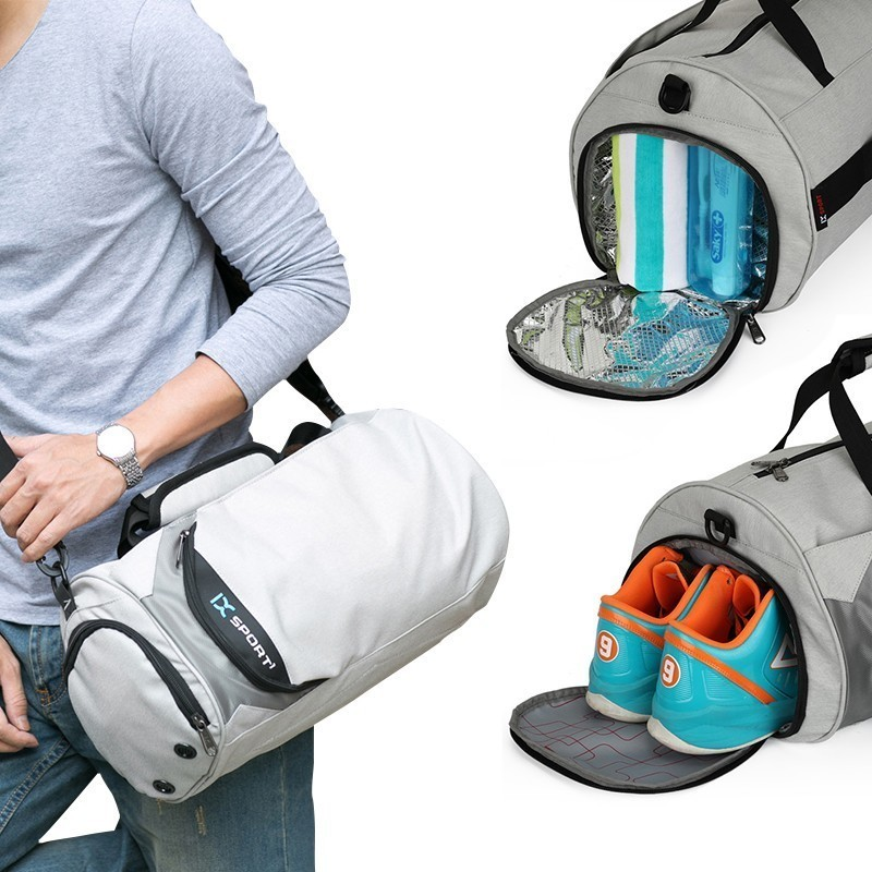 Waterproof Sport Bags Men Large Gym Bag Women Yoga Fitness Bag Outdoor Travel Luggage Hand Bag With Shoes Compartment 2019