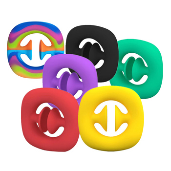 Fidgets Antistress Toys Hand Grip Ring Relief Stress Sensory Toy Autism Special Needs Anxiety Reliever Grip Ball Figet Toys