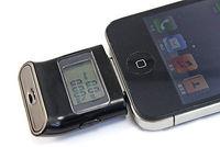 DHL/EMS 10pcs Digital Alcohol Tester Bafômetro w Backlight para iP hone 5 5S 5c iP ad A7|null| |  -