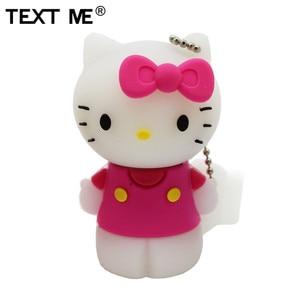 Image 5 - Tekst Me Rood Pinl Bule Gree Geel Kleur Schattige Hello Kitty Schoen Usb Flash Drive Usb 2.0 4Gb 8gb 16Gb 32Gb 64Gb Pendrive Gift