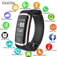 smart bracelet with Heart Rate Monitor, Fitness Watch color screen Tracker Sleep Monitor for Men Women Kids relogio