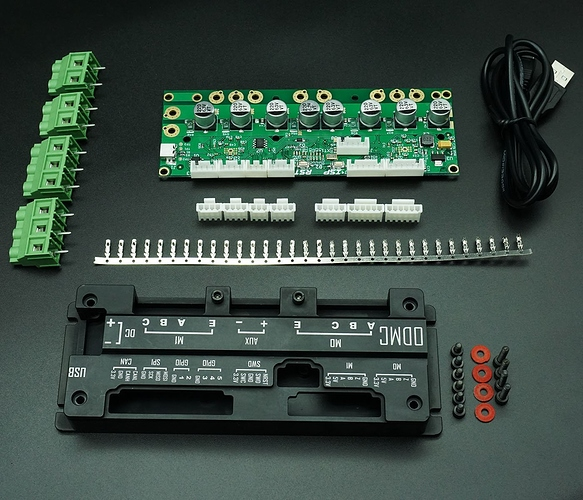 ODrive FOC BLDC AGV CNC Servo Dual Motor Drive High Power Development Board