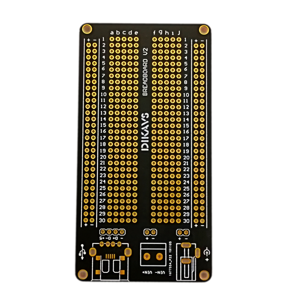 High Quality  Breadboard PCB Welding Pcb Board Prototype Pcb Prototype Board For Arduino -  Gold Plating