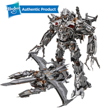 цена на Hasbro Transformers mpm Masterpiece Movie Series Megatron MPM-8 OFFICIAL Hasbro and Takara Tomy  Collector Figure 12-inch scale