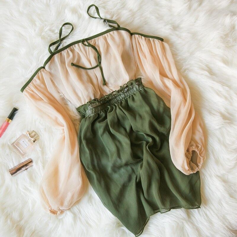 STARK Green One Piece Swimsuit Classic Women Sexy Swimwear Vintage Lily Flower Brand Bodysuit Monokini Bath Suit Beachwear