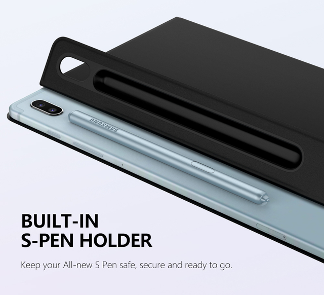 Smart Folio Case For Samsung Galaxy Tab S6 10.5 2019,Slim Lightweight Smart Shell Stand Cover,Strong Magnetic Adsorption for Tab 1