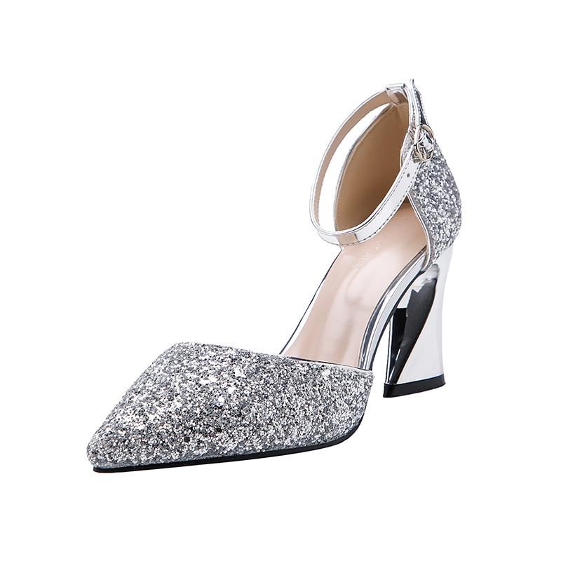 glitter designer heels