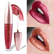 12 Color Shimmer Metallic Lipstick Liquid Long Lasting Makeup Waterproof Matte Metal Pink Sexy Red Lips Make Up Women Lipsticks недорого