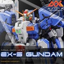 QUADRINHOS CLUB Suíte Remontagem de GK resina para Gundam MG 1/100 EX S EXS 1.5 Ver. assembléia toy figuras de ação