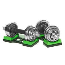 1 пара гантелей стойки гантели держатель набор для тяжелой атлетики дома фитнес оборудование Halteres стойки Кронштейн домашние упражнения