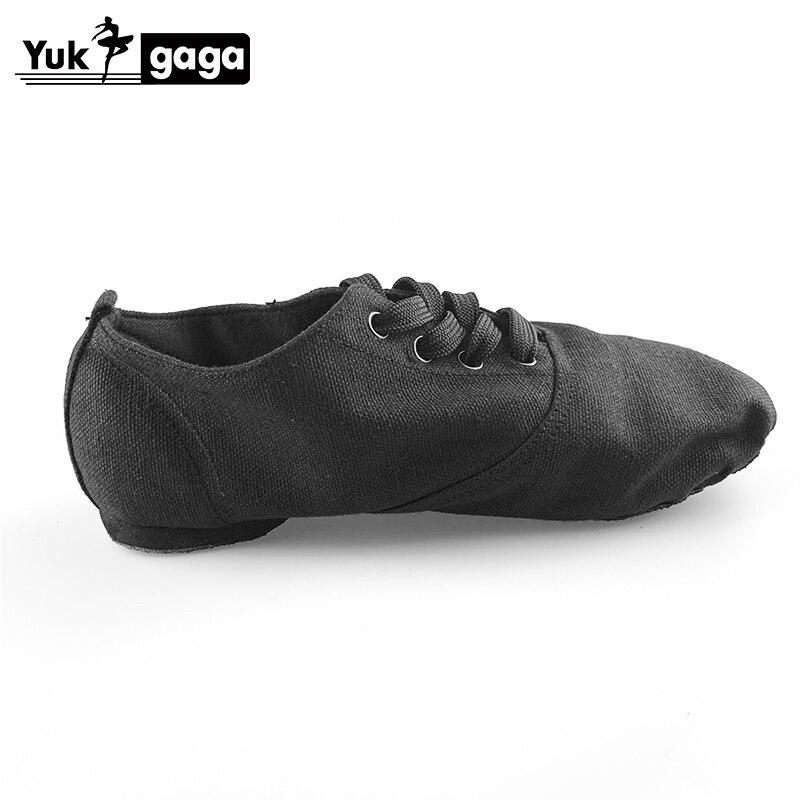 2019 Soft Cloth Dance Jazz Shoes Ballet Shoes For Men Women Children White Black Tan Red Sport Sneakers Gymnastics Fitness Shoes
