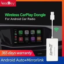 LoadKey & Carlinkit 2.0 llave electrónica automática para coche, CarPlay inalámbrico, USB, Android Auto, adaptador de reproducción de pantalla Android, navegación Mirrorlink IOS