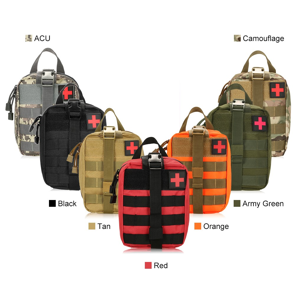 Image 5 - Outdoor MOLLE Medical Pouch First Aid Kit Utility Bag Emergency 