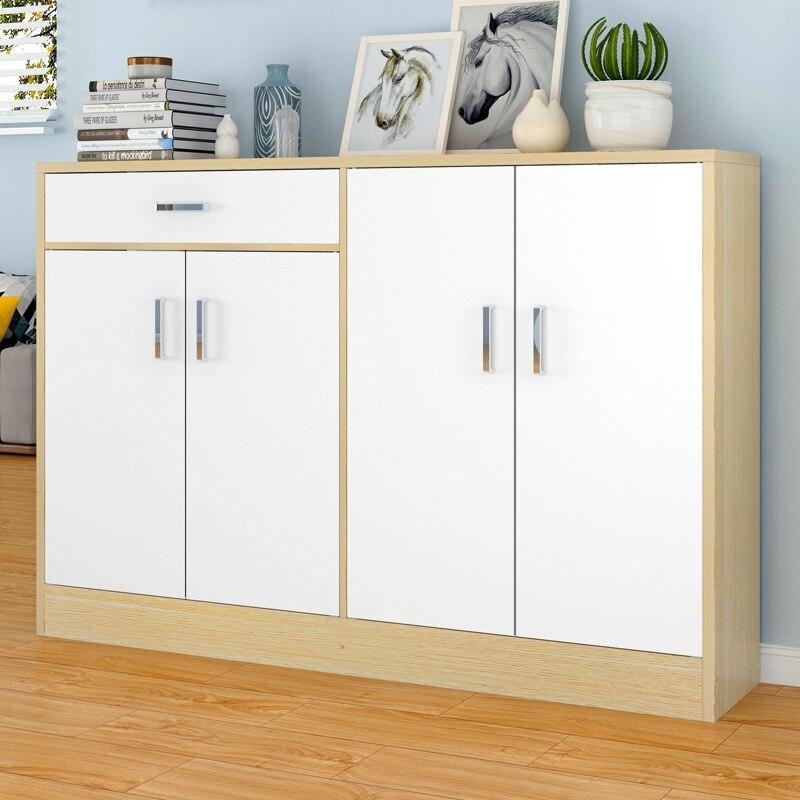 Shoe Cabinet Minimalist Modern Living Room Cabinet Household Province Space Economical Home Bi Doorway Small Shoe Rack