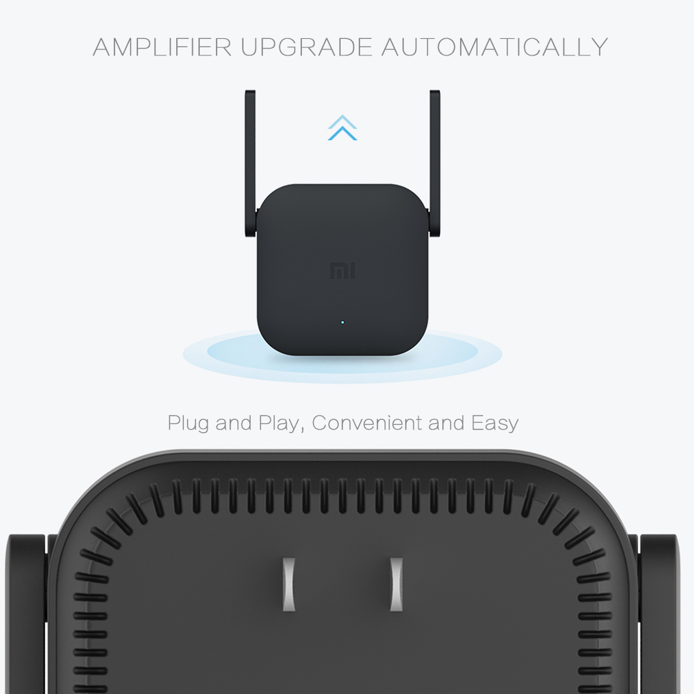 Original Xiaomi WiFi Repeater Pro 300Mbps Mi Amplifier Network Expander Router Extender Roteador 2 Antenna for Router Wi-Fi Home 3