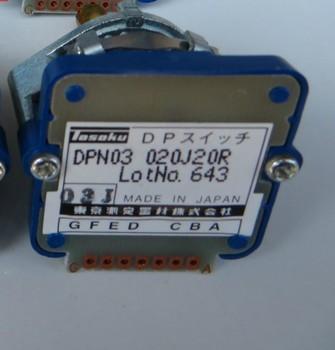 03J Rotary switches band switch TOSOKU DPN03 202j20r CNC panel knob switch