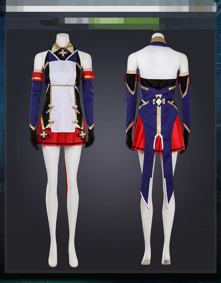 Trajes de anime azur lane z23 vestido