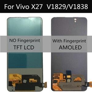 6.39 lcd lcd lcd para vivo x27 v1829 v1838 display lcd tela de toque digitador assembléia substituição para o telefone vivo v15 pro lcd