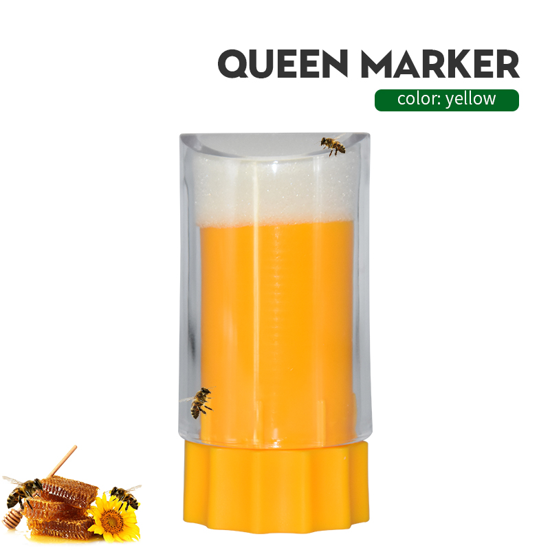 Bee Queen Marker Bottle Breathable Marking Cage Bottle Plastic Non-toxic And Safe Catcher Beekeeper Tool Beekeeping Equipment