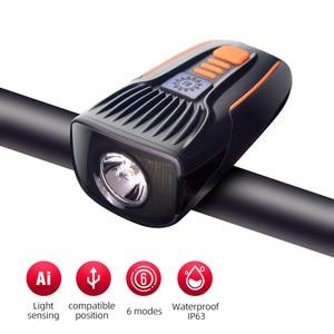 Light Sensor Bike Lights Smart