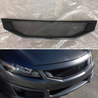 Body kit front bumper cover Refitting grill Accessories carbon fibre Racing Grills use for honda Accord coupe 2008  2010 2 door
