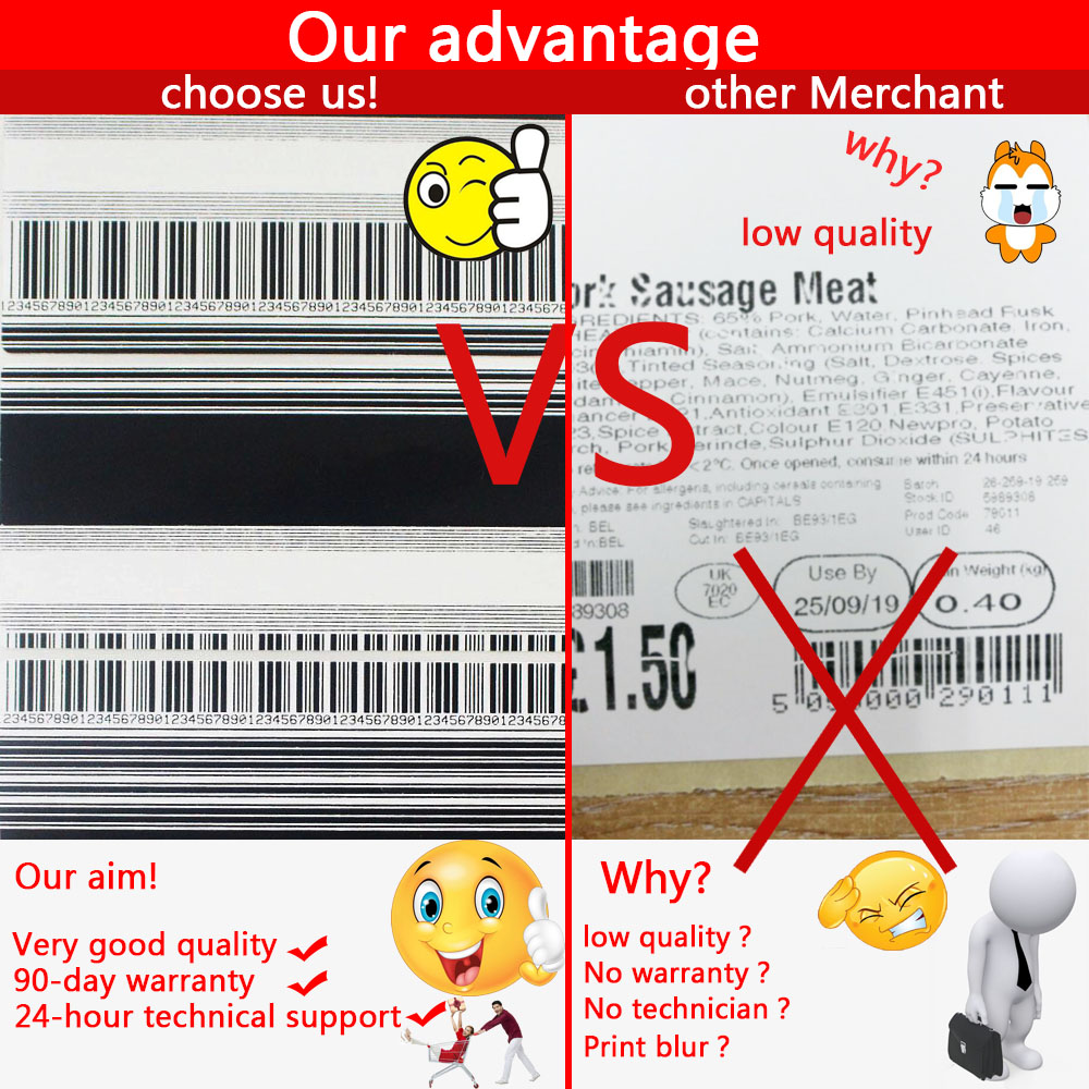 New A Quality G41400M Print Head For Zebra S4M 203dpi Compatible Thermal Barcode Printer spare parts printhead in Printer Parts from Computer Office