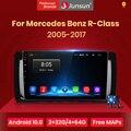 Автомагнитола Junsun V1, мультимедийная стереосистема на Android 10,0 для Mercedes Benz R-Class W251 R300 M-Class W164 ML350 2005, 2 din, dvd