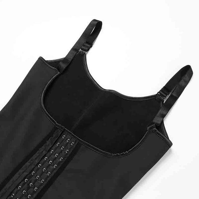 Фото женское боди шейпер большого размера 6xl черные корсеты с открытой цена