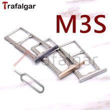 Для Meizu M3S держатель слота для сим-карты Micro SD TF карта адаптер лотка для Meizu M3S Mini sim-слот Y685H Y685Q золото/серебро/серый/розовый