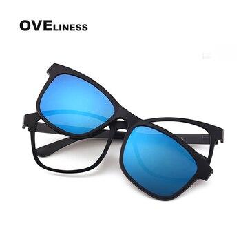 2020 optical sunglasses retro glasses frame men women eyeglasses polarized Clip On sunglasses Prescription sun glasses eyewear
