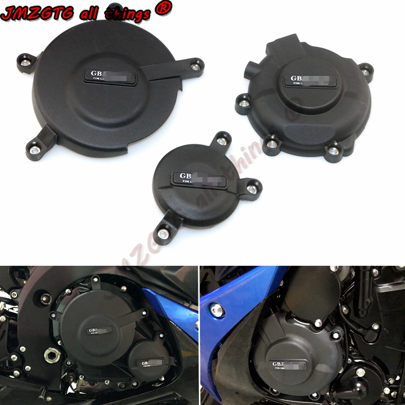 Motorcycles Engine cover Protection case for case GB Racing For SUZUKI GSXR600 GSXR750 2006 07 08 09 10 11 12 13 14 15 16 17 18