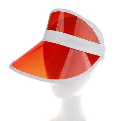 1 шт. летняя повседневная мужская и женская неоновая шляпа солнцезащитный КОЗЫРЕК ГОЛЬФ Спортивная теннисная Кепка Солнцезащитная шапочка, Кепка - Цвет: Красный